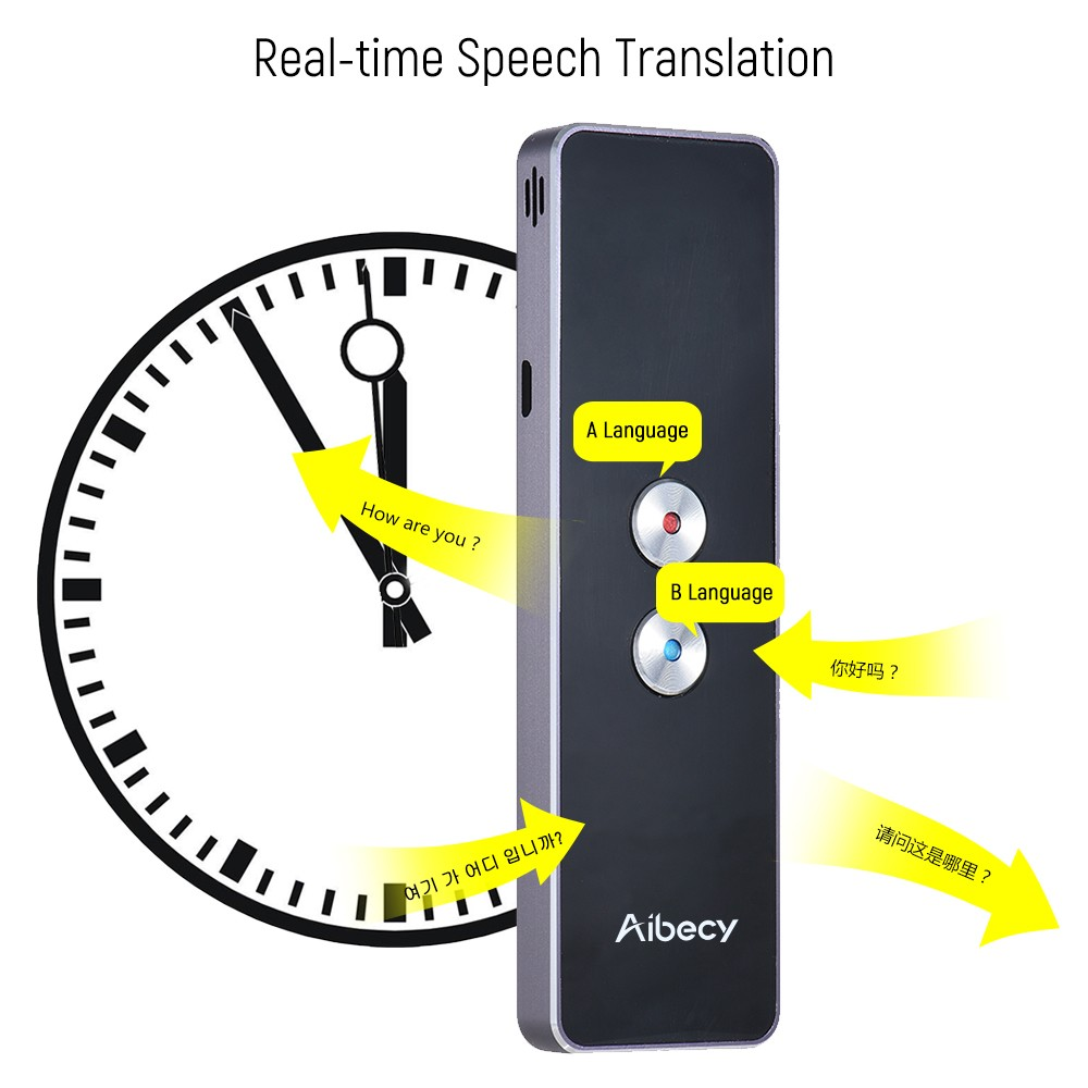 Aibecy 40 Languages Real-time 2-way Instant Translator