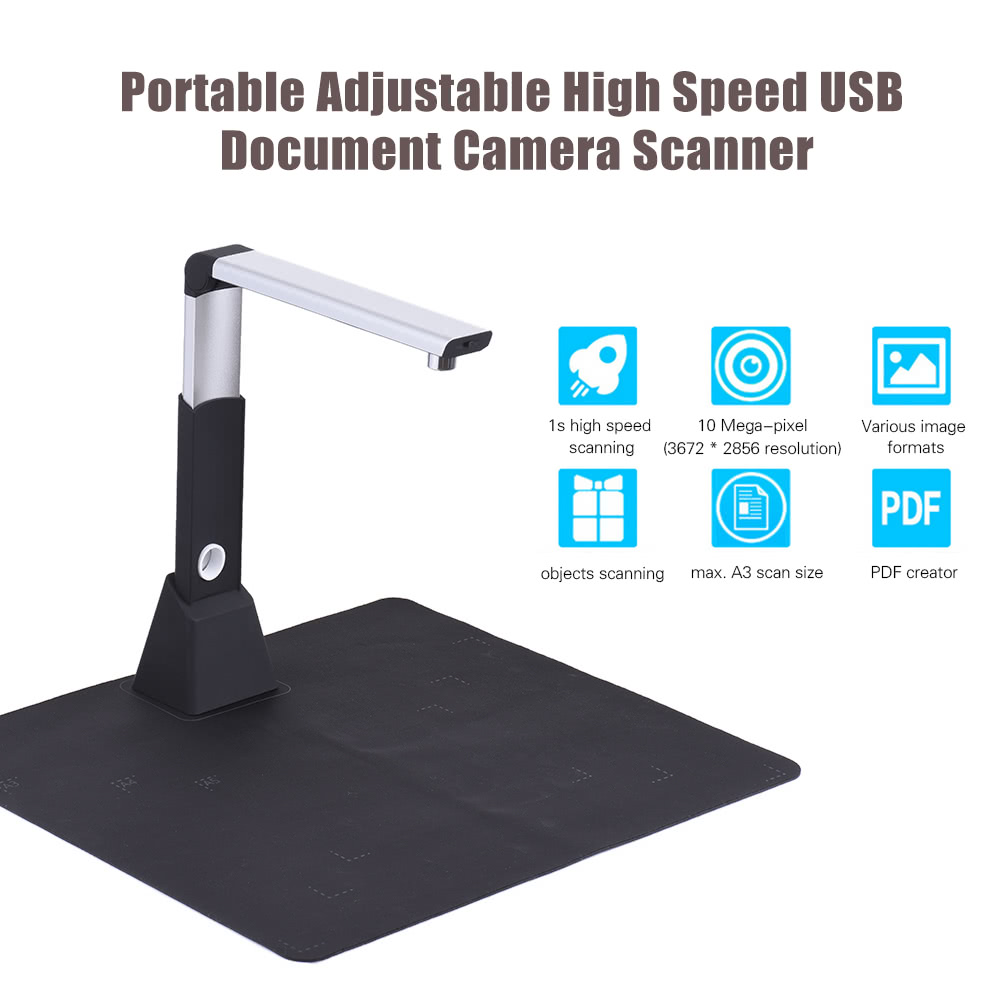 Definition Modular Classroom : Portable adjustable a scanning size usb document camera