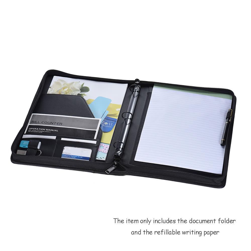 Multifunctional Professional Business Portfolio Padfolio Folder ...