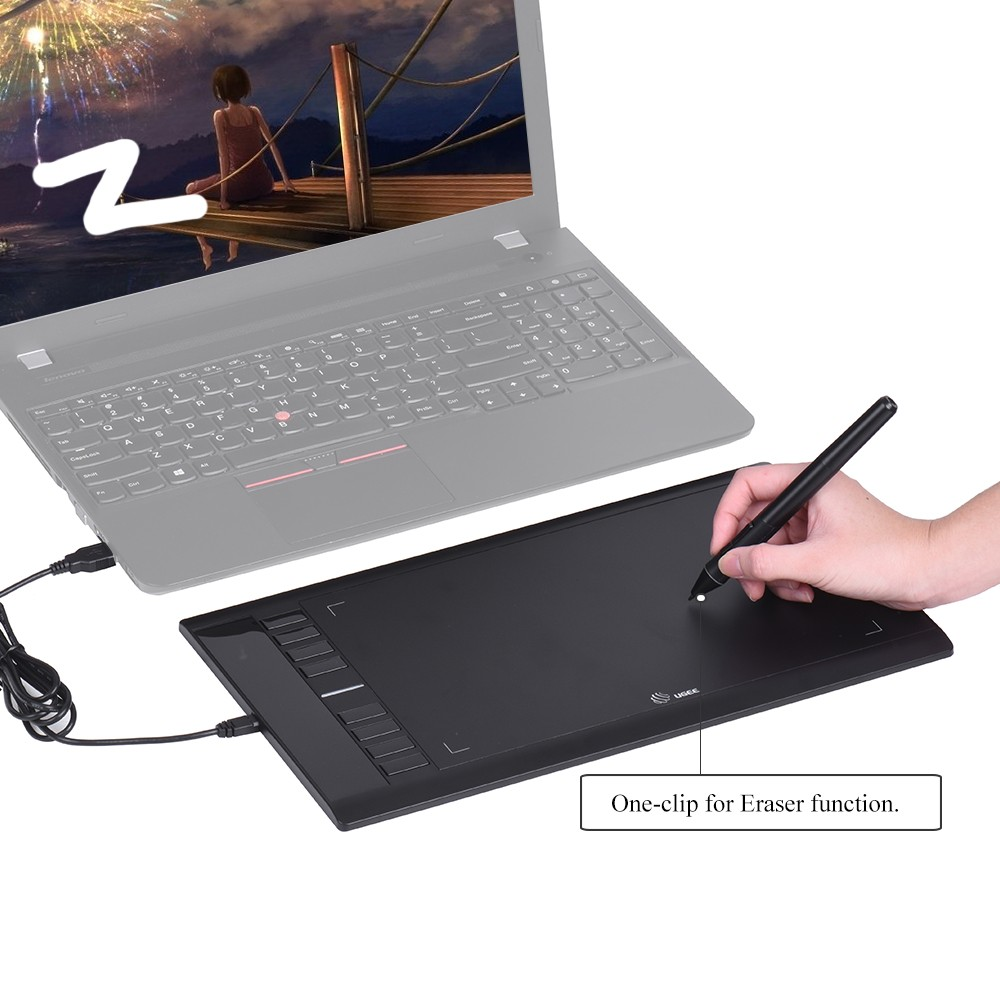 Ugee M708 Upgraded Graphics Drawing Tablet Board