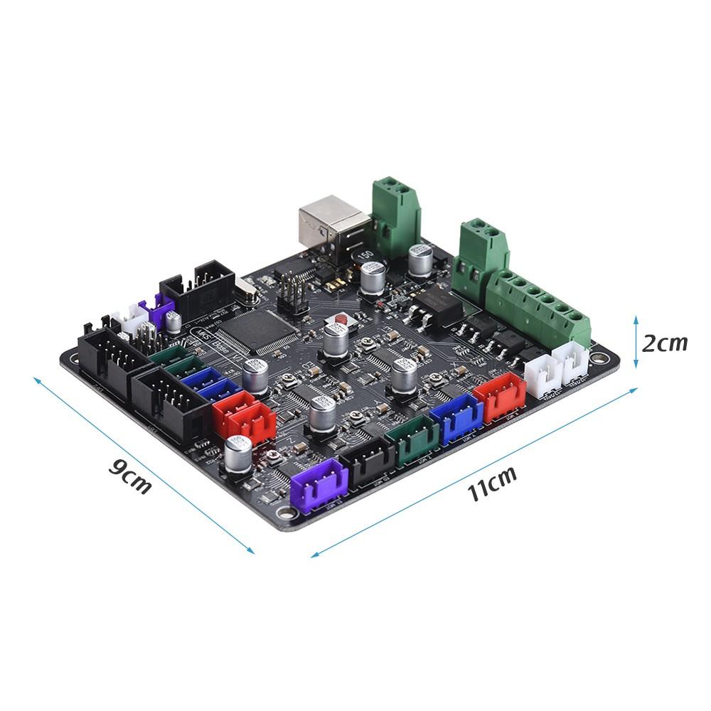 3d Printer Integrated Motherboard Mks Base V15 Control Board Ramps14 Compatible With Mega 2560 For Reprap Mendel Prusa I3 Sales Online Tomtop