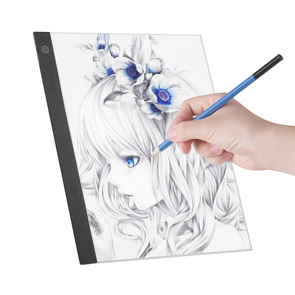 Painting Supplies Office & School Supplies Optical Kid Drawing Panel Tracing Board Copy Pad Crafts Portable Zero-based Painting Mould Anime Sketch Art Tool Toy Gift And To Have A Long Life.
