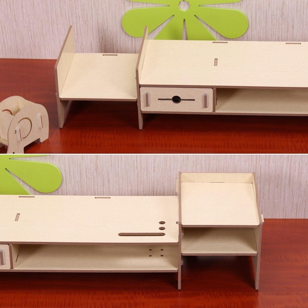 Diy Lagerregal Monitor Stand Riser Datei Organizer Schreibwaren