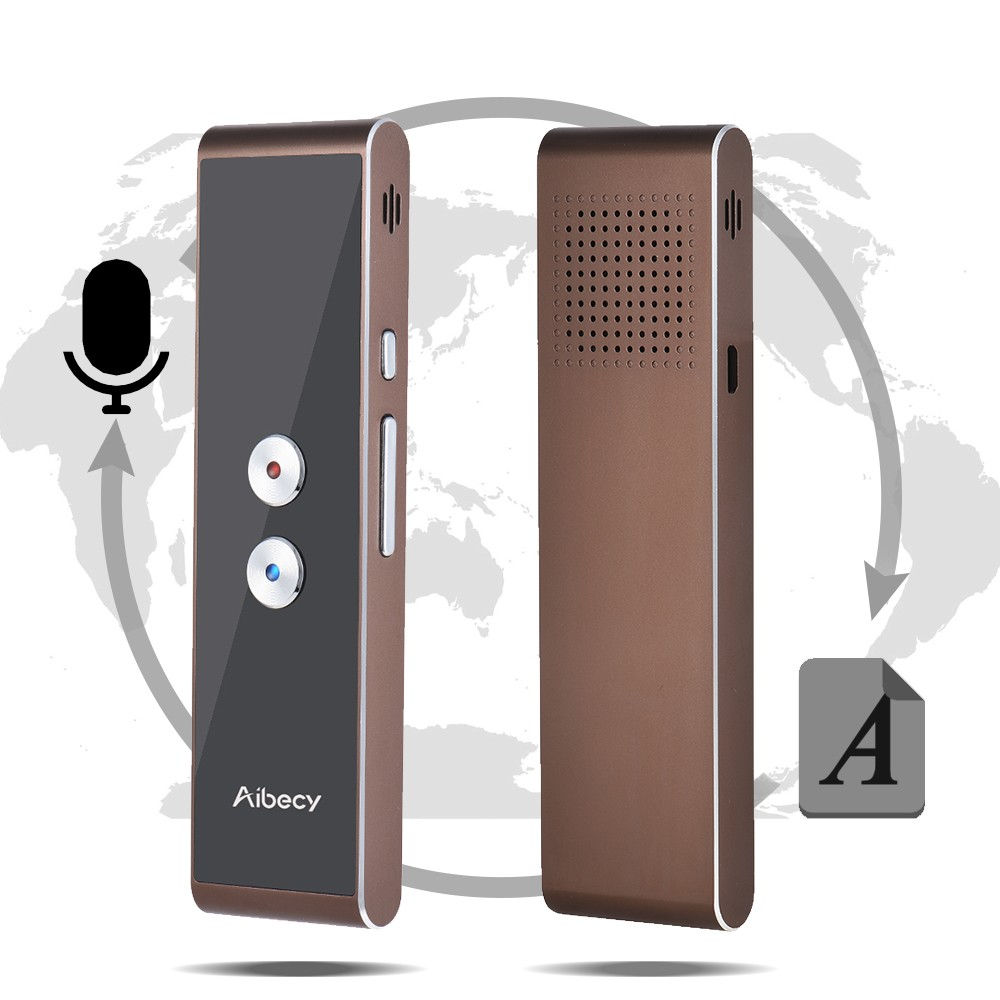 Aibecy T8S Real-time 40 Languages 2-way Translator Speech/Photo/Text  Translation Device