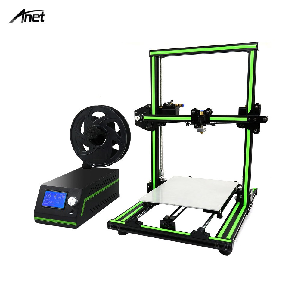 Anet E10 3d Printer Diy Kit Super Building Volume 220270300mm With Cooling Pad Big Fan Votre Nb 050 14 Inch Mouse Over To Zoom In