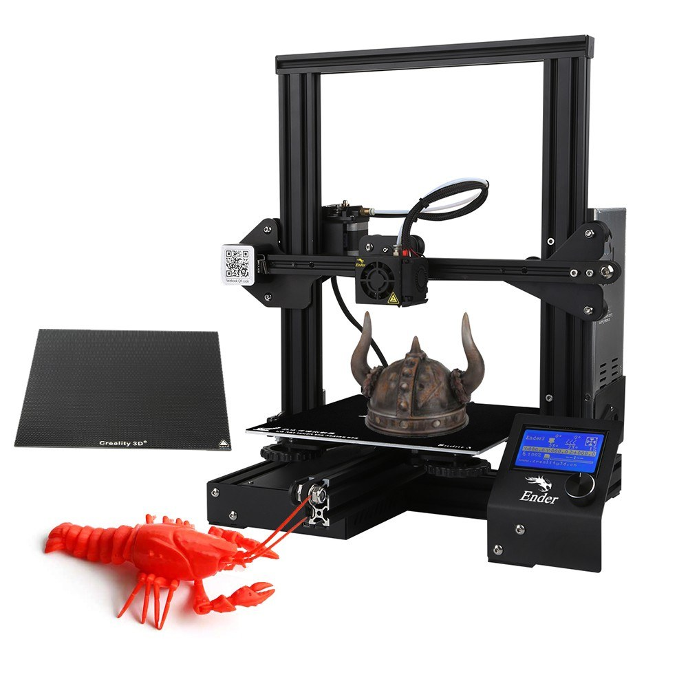 Cafago - 64% OFF Creality 3D ender-3X Upgraded High-precision DIY 3D Printer,free shipping+$158.58