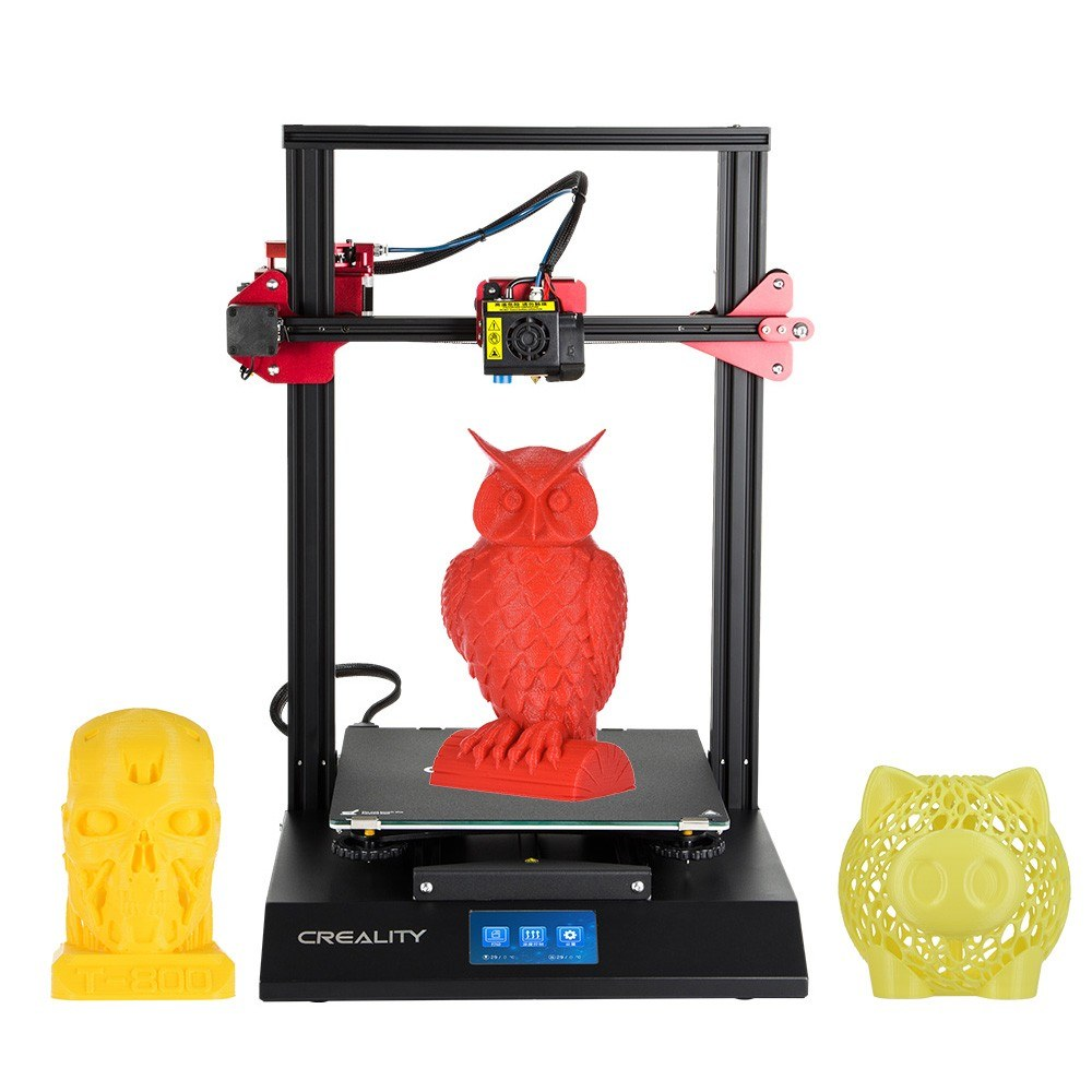 Cafago - 84% OFF CREALITY CR-10S Pro Upgraded Auto Leveling 3D Printer DIY Self-assembly Kit,free shipping+$334.58