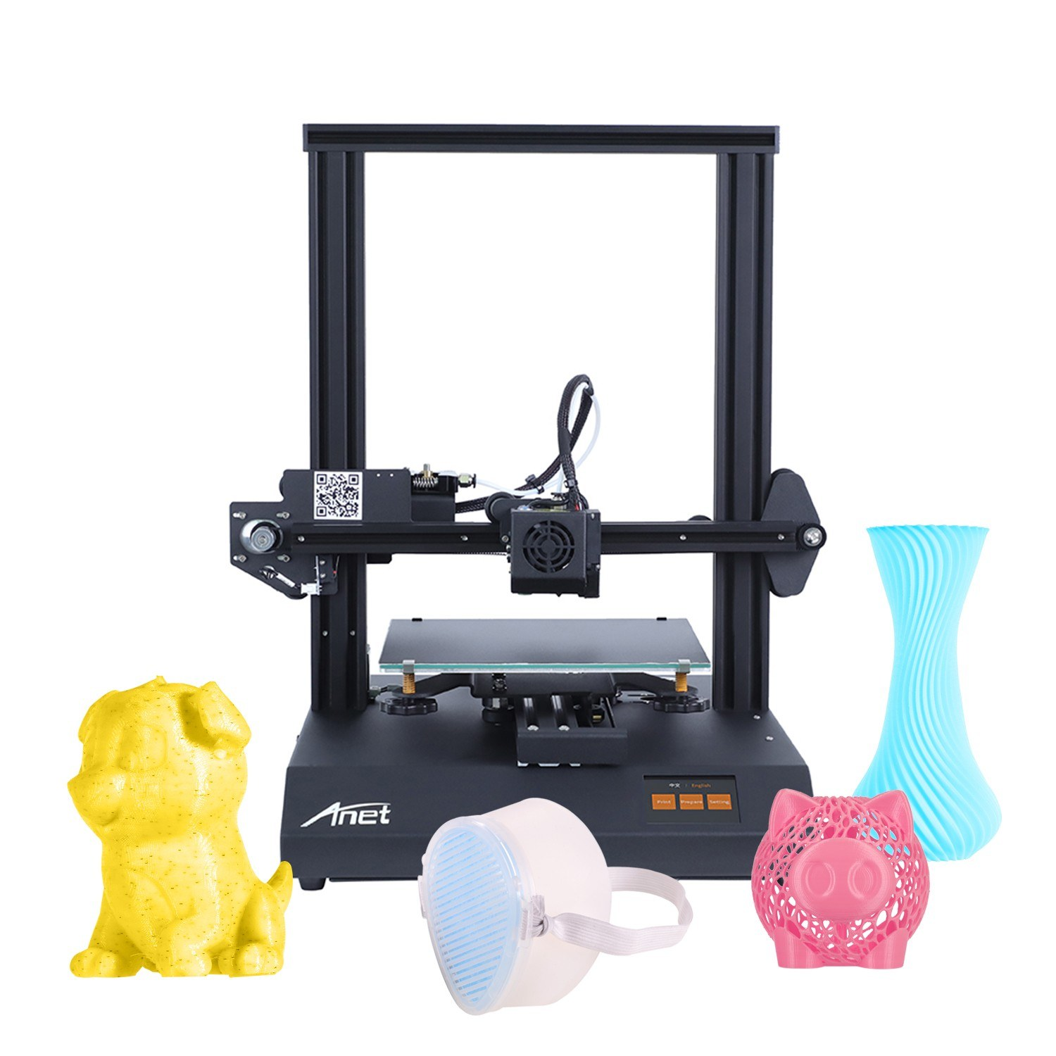 tomtop.com - 79% OFF Anet ET4 Pro 3D Printer High Precision, Limited Offers $189.99