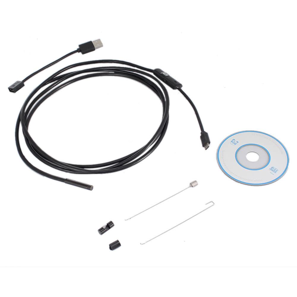 Beste KKmoon Mini wasserdichte Smartphone USB verdrahtet Endoskop ...