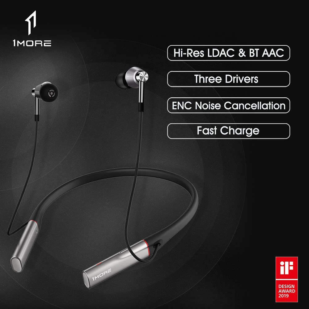 Xiaomi 1MORE Triple Driver BT In-ear Headphones E1001BT