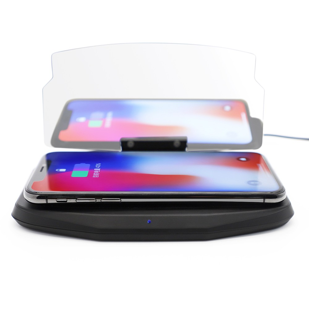 Wireless Charging Qi Car Charger for iPhone X 8 7 Samsung Galaxy S9 Plus