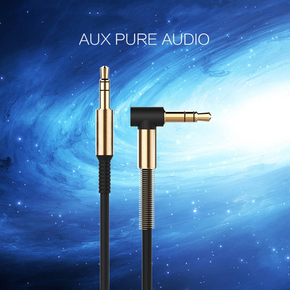 Joyroom AUX Audio Cable 3.5mm High Strength Elastic Audio Line