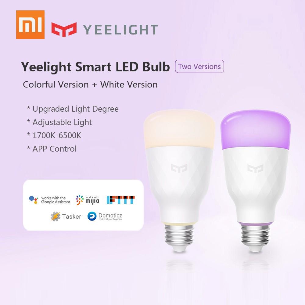 Xiaomi Yeelight Smart LED Bulb Colorful 800 lumens 10W E27 Lemon Smart Bulb Lamp