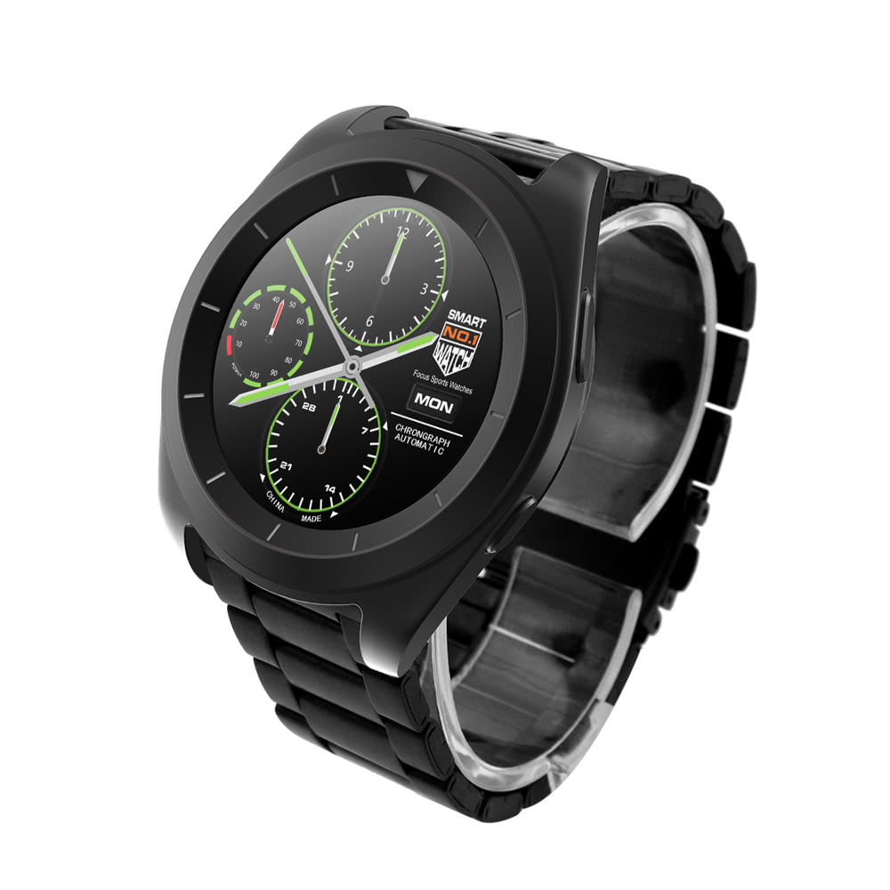 "NO.1 G6 Heart Rate Smart Watch 1.2"" Touch Screen MTK2502 ..."