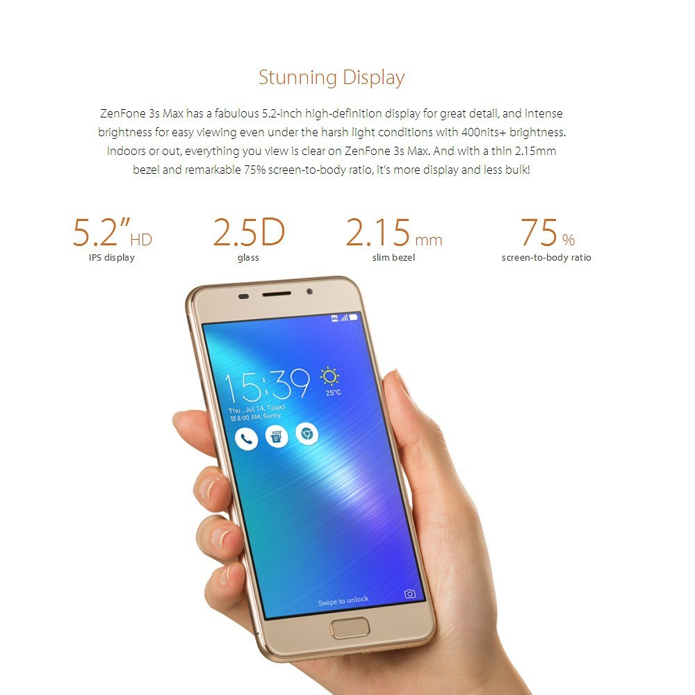 Asus Zenfone Pegasus 3s Max Zc521tl 3gb 32gb Global Version Us Usb Cable Wiring Diagram 1 X Charger Micro Earphonewith Tips Sim Eject Pin User Manual