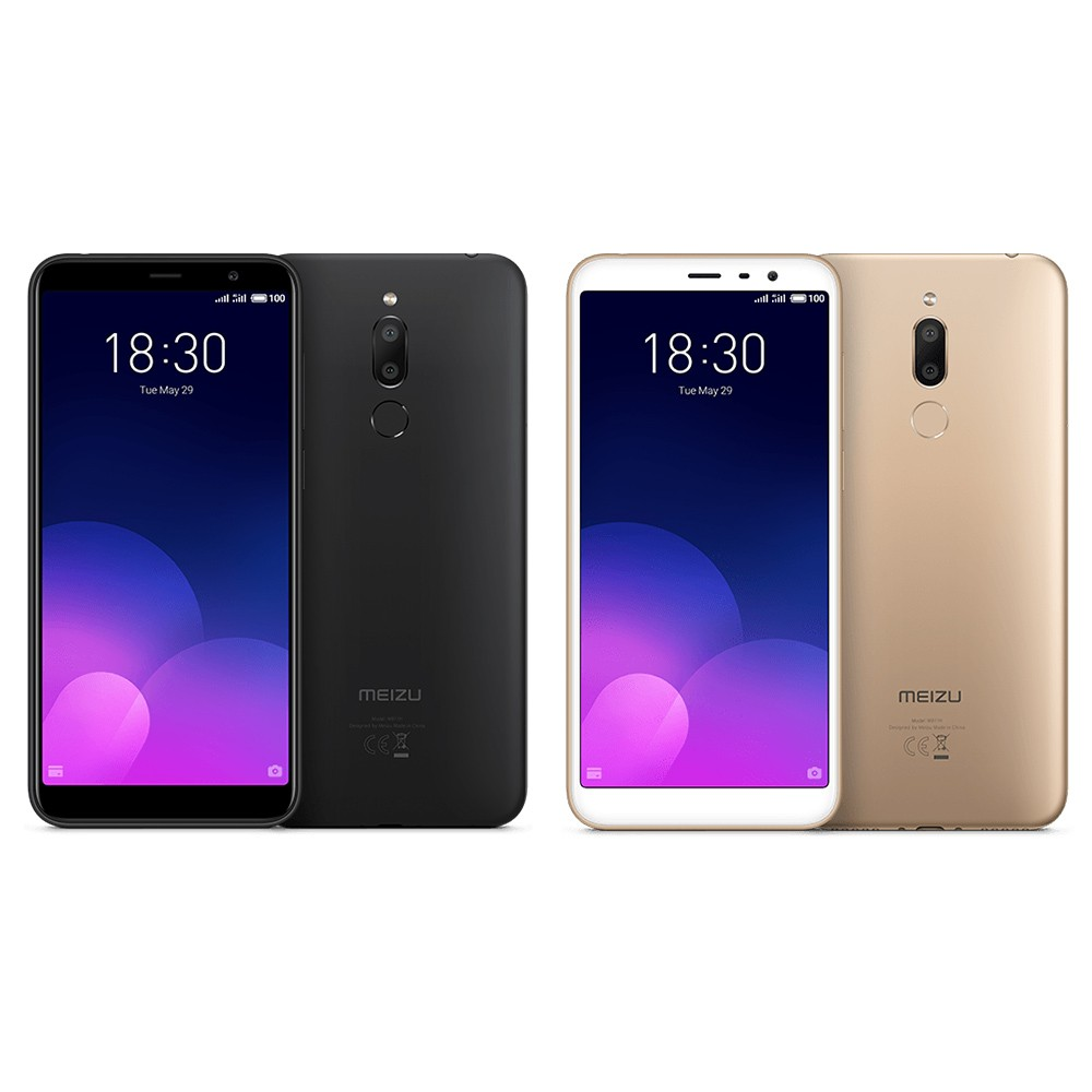 Meizu 6T M6T 4G Smartphone 3GB+32GB - US$122 99 Sales Online black - Tomtop