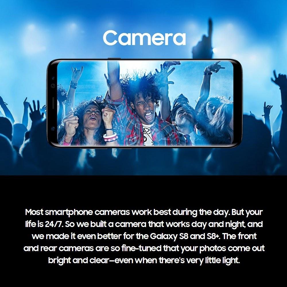 Refurbished Samsung Galaxy S8 4G Cellphone 4GB RAM 64GB ROM