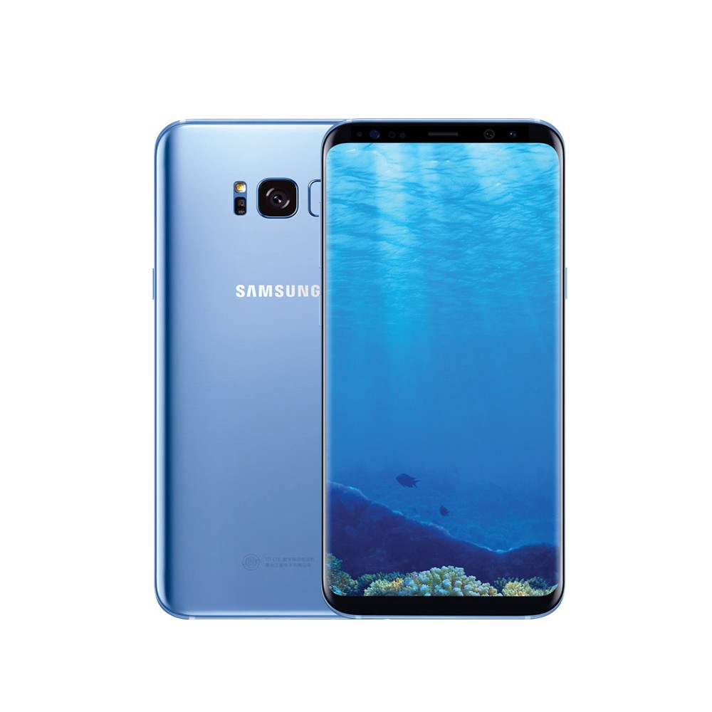 Refurbished Samsung Galaxy S8 Plus 4G Handy 4 GB RAM 64 GB ROM blau ...
