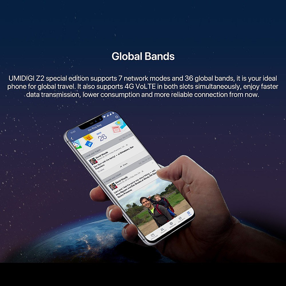 Umidigi Z2 Special Edition 4g Smartphone 4gb 64gb Us21899 Sales Lamandel