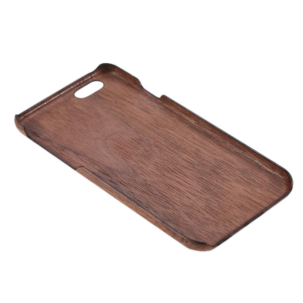 En bois naturel bambou main t l phone portable hard shell for Case en bois