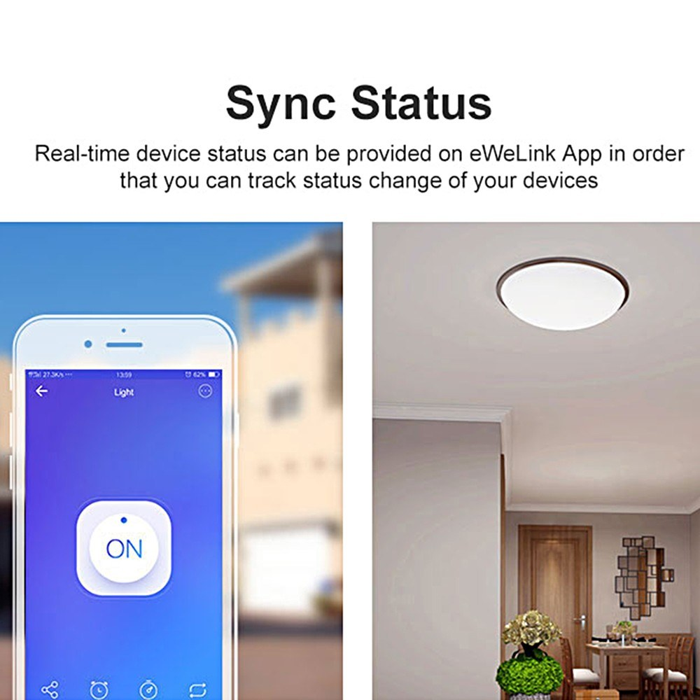 SONOFF-BASIC R3 Intelligent ON/OFF Wifi Switch Light Timer Support  APP/LAN/Voice Control DIY Mode 10PCS - US$58 99 Sales Online #5 - Tomtop