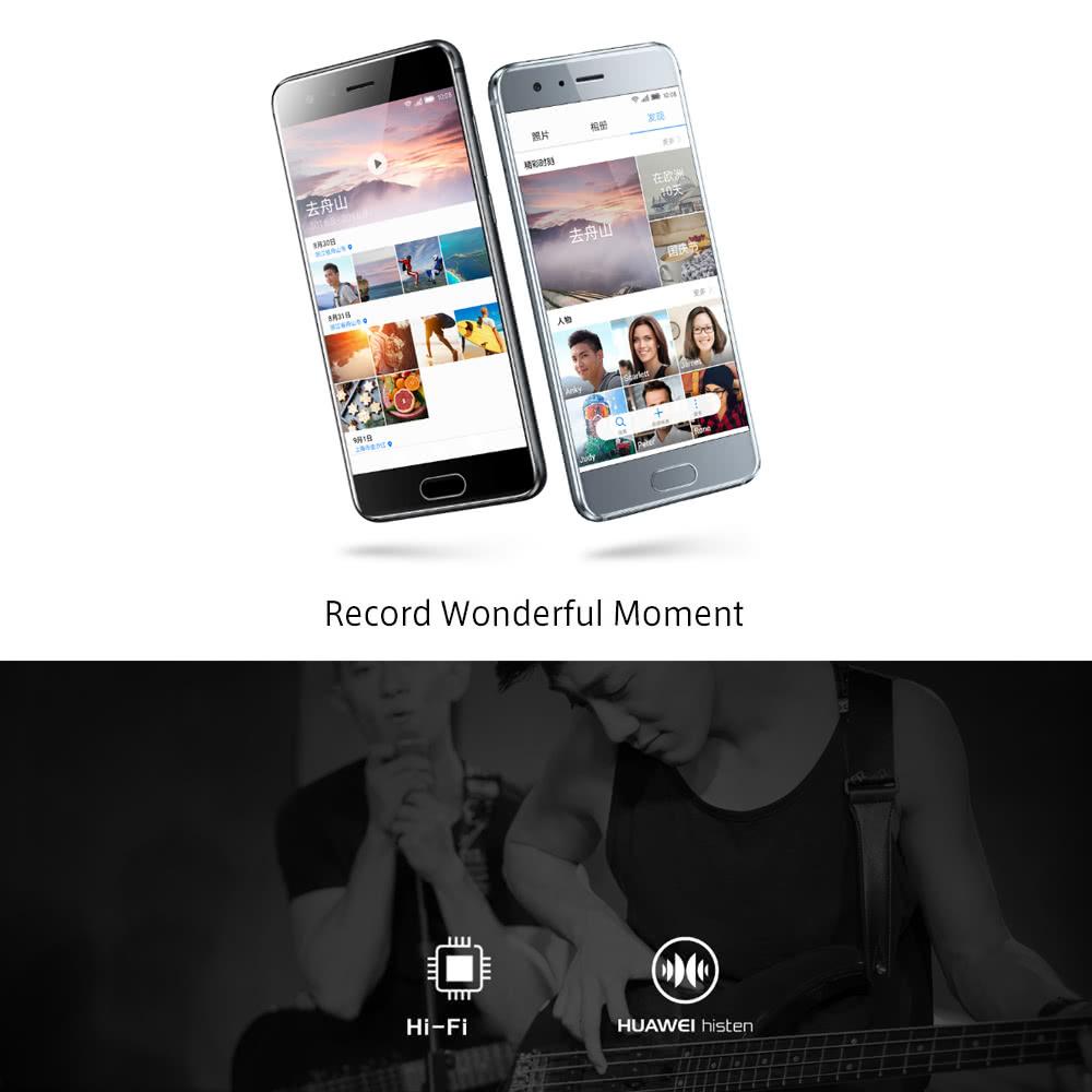 Huawei Honor 9 Smartphone 4G Phone 5 15inch FHD Screen 6GB RAM 64GB ROM