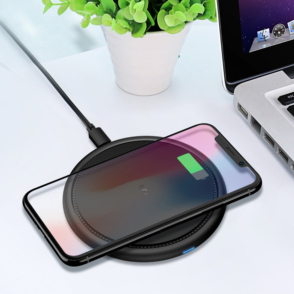 F10 Wireless Charging Pad Portable Fast Qi Wireless Charger
