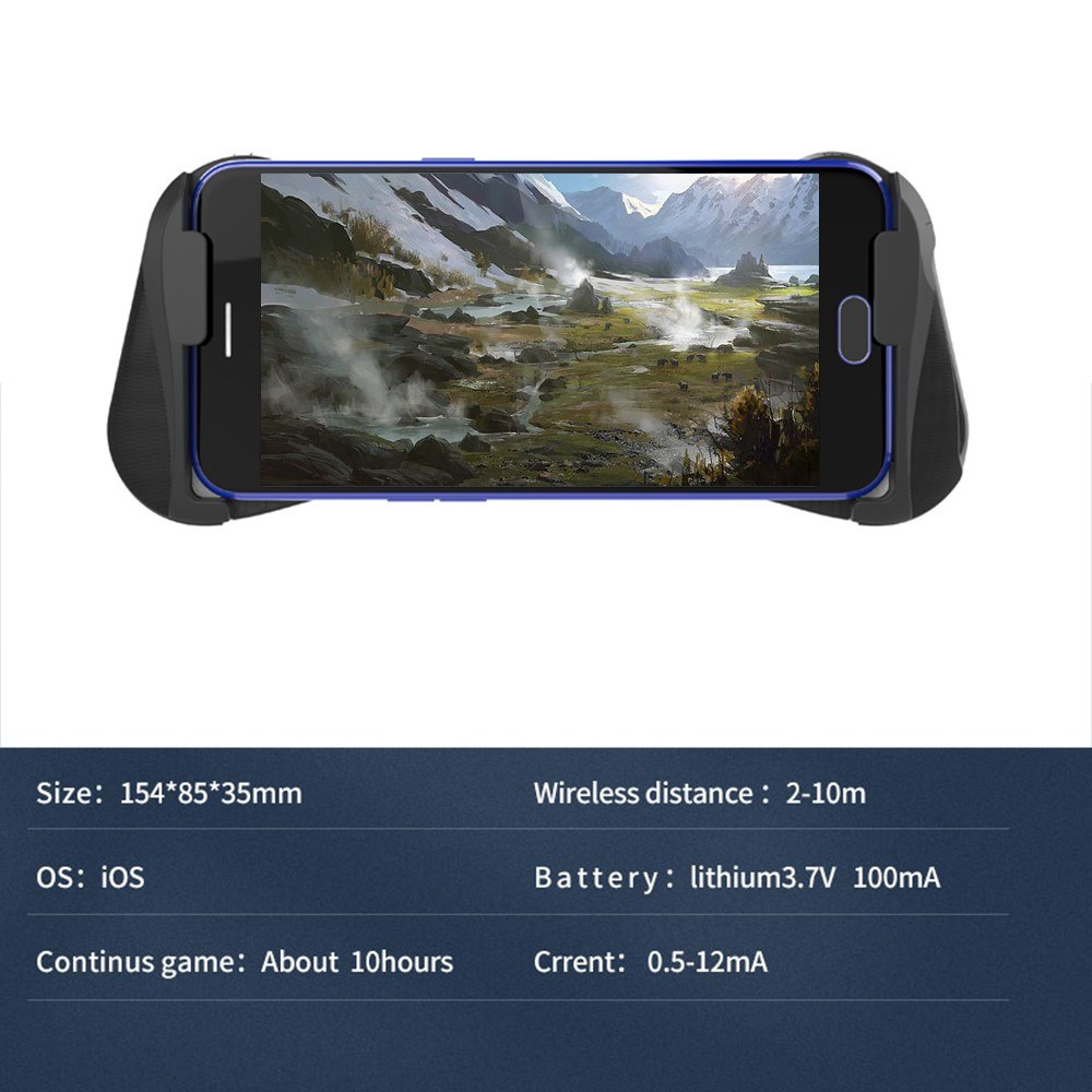 MOCUTE 057 BT 4 0 Gamepad PUBG Controller PUBG Mobile Triggers Joystick  Wireless Joypad Game Controller pad for iOS Android iPhone iPad Tablet USB