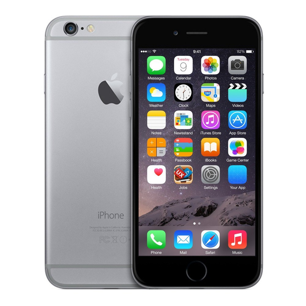 Refurbished Apple iPhone 6 Unlocked Smartphone-128GB