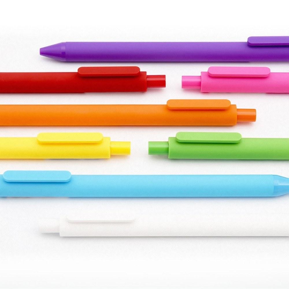 Xiaomi Mijia Kaco 12 Colores Arco Iris Muestra Colorida Pluma 05 Mm