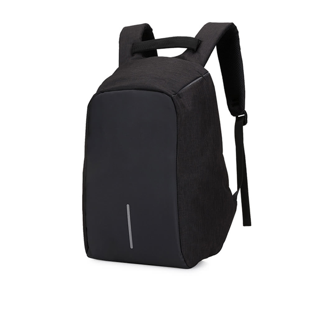 2a9b129504 Best Backpack Casual Daypack with USB black Sale Online Shopping ...