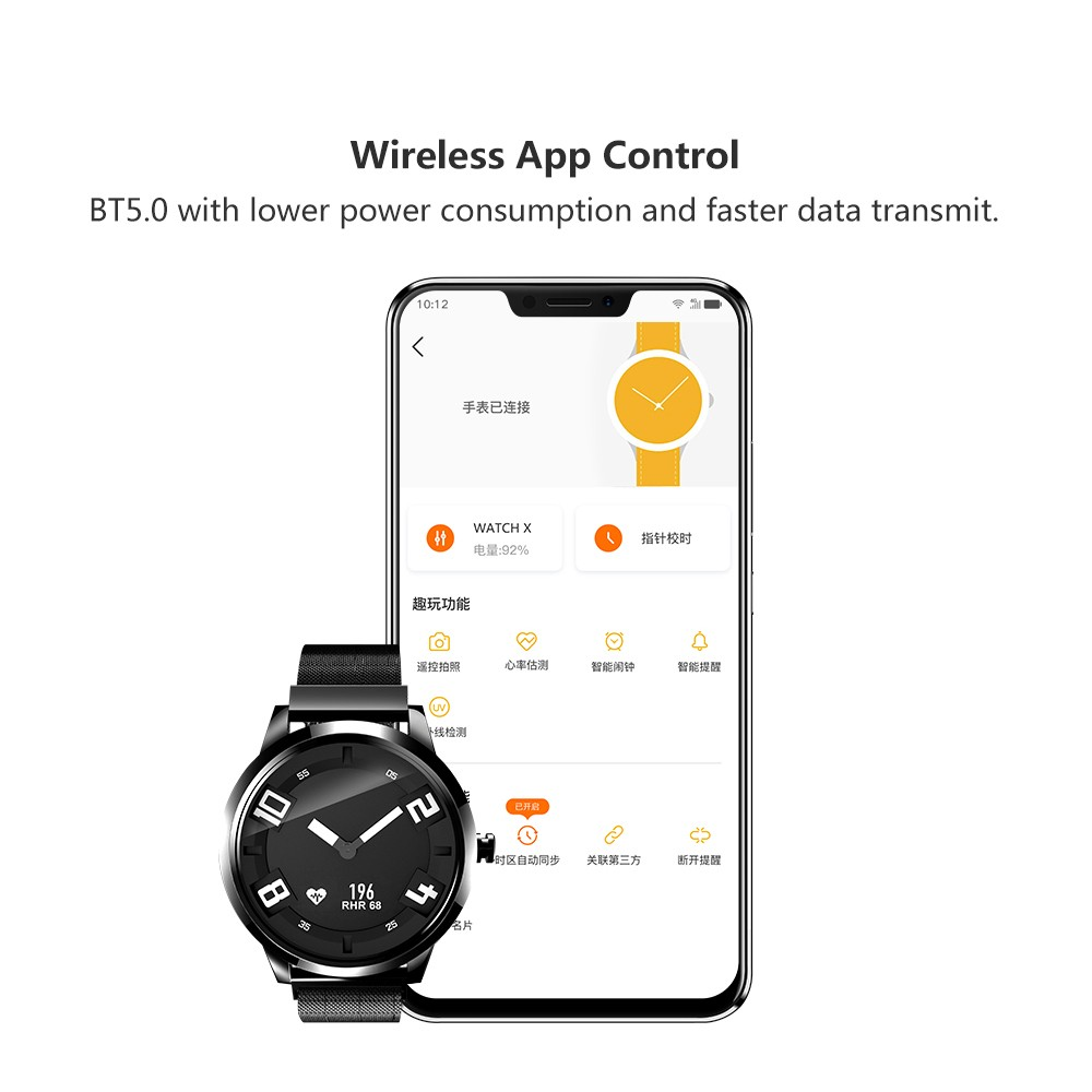 Lenovo Watch X Plus Us 73 99 Sales Online Black Tomtop