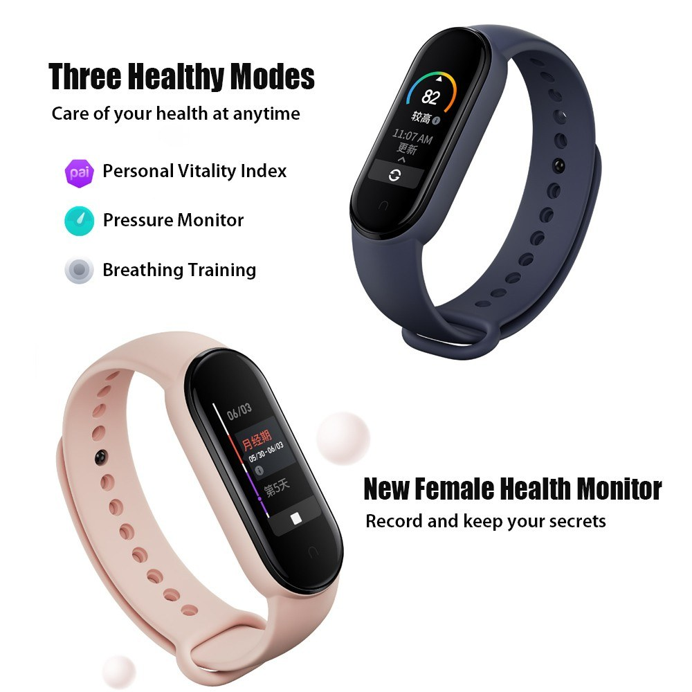 Hardware - Xiaomi Mi Band 4 Waterproof Smart Watch Heart Rate Fitness Tracker with Bluetooth 5.0