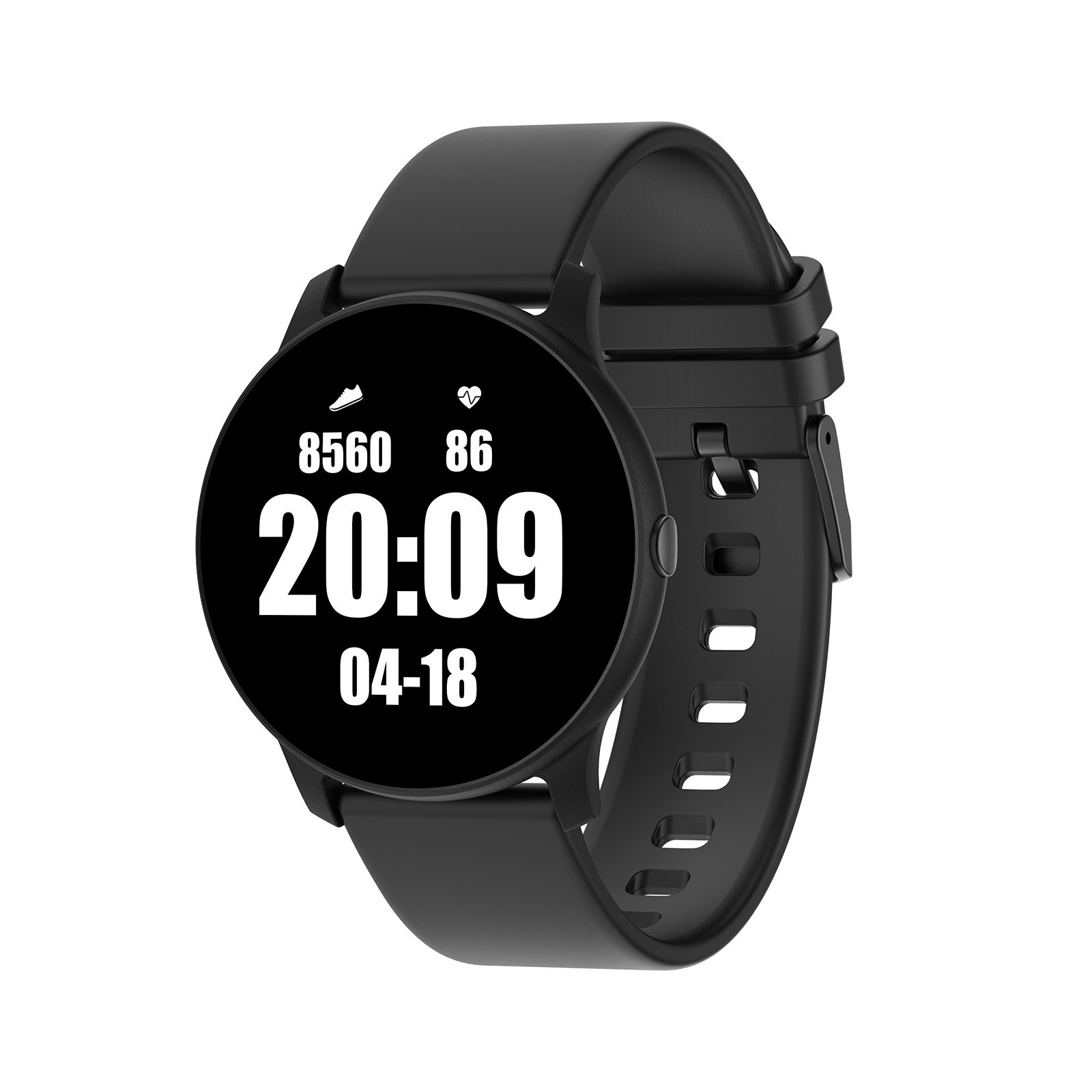 Tomtop - 63% OFF KW19 1.3-Inch TFT Single-Touch Screen Smart Sports Watch, Free Shipping $18.99