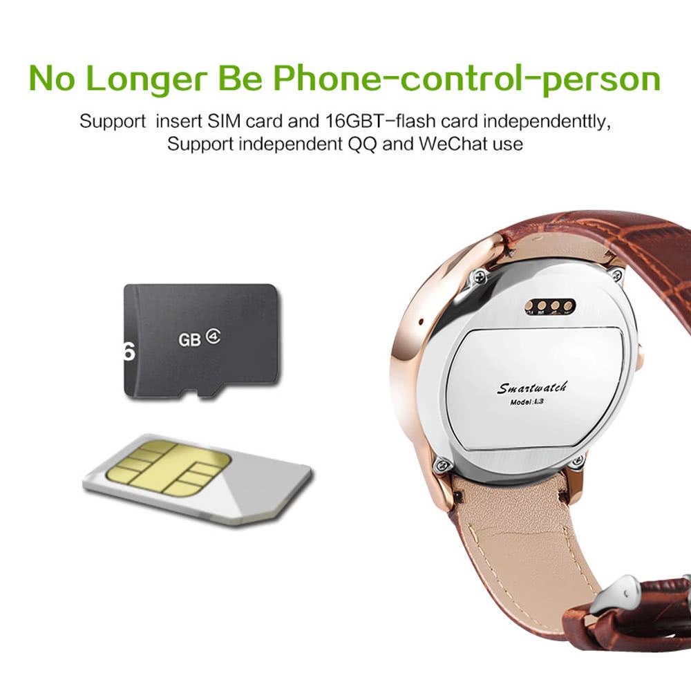 L3 Smart Watch Phone 2G GSM MTK2502C BT 4 0 1 22