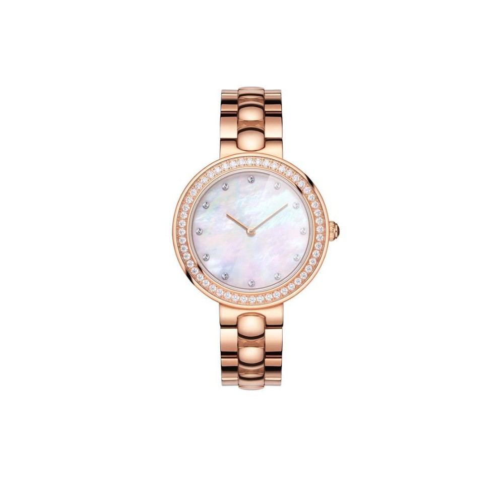 5f60d16adbe Xiaomi TwentySeventeen Crystal Quartz Relógio de pulso para mulheres rosa  ouro - Tomtop.com