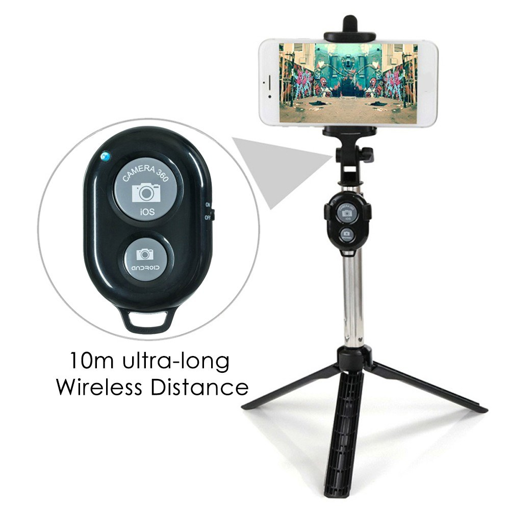Wireless BT Remote Shutter for iPhone/Samsung/Xiaomi Android