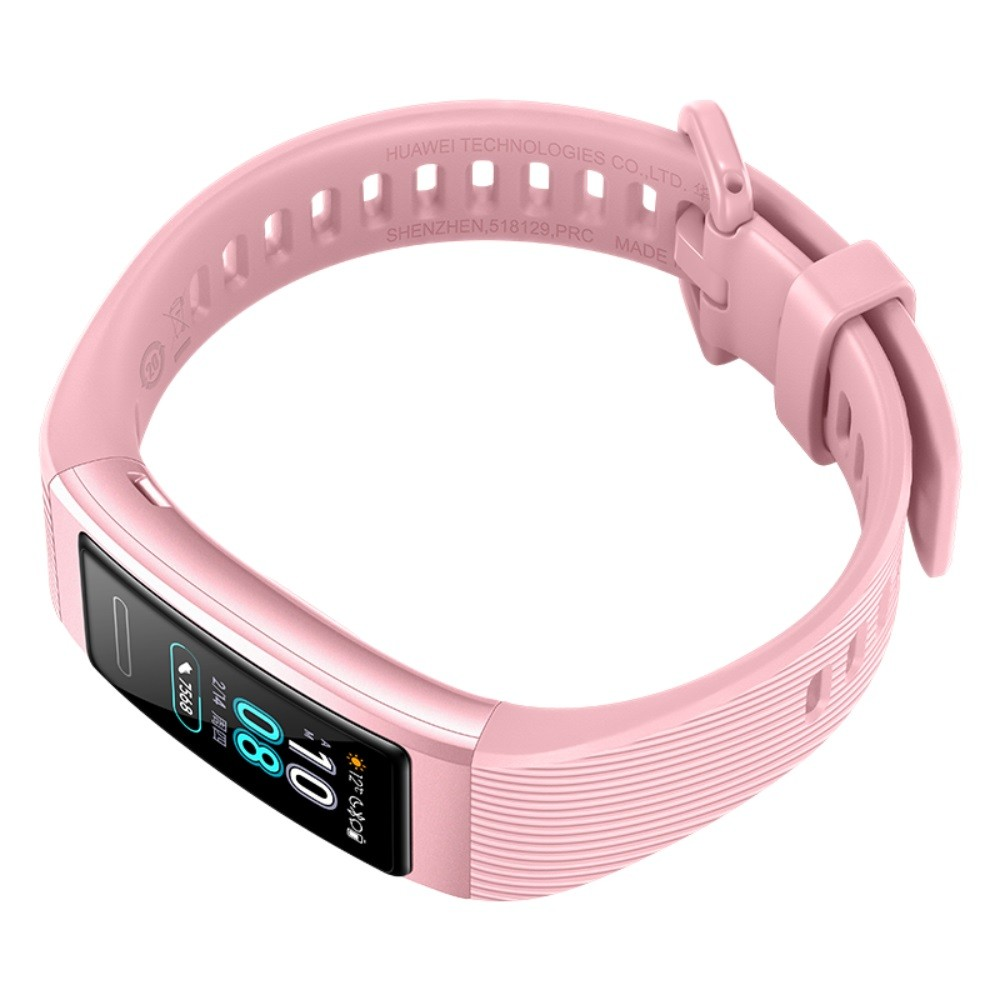 HUAWEI Band 3 0.95-Inch AMOLED Color Screen 120*240 BT 4.2 Smart Bracelet Real-Time Heart Rate Sleep Monitoring Heart Health Management Multiple Sports Modes Wristwatch for Android 4.4 / iOS 9.0 and above