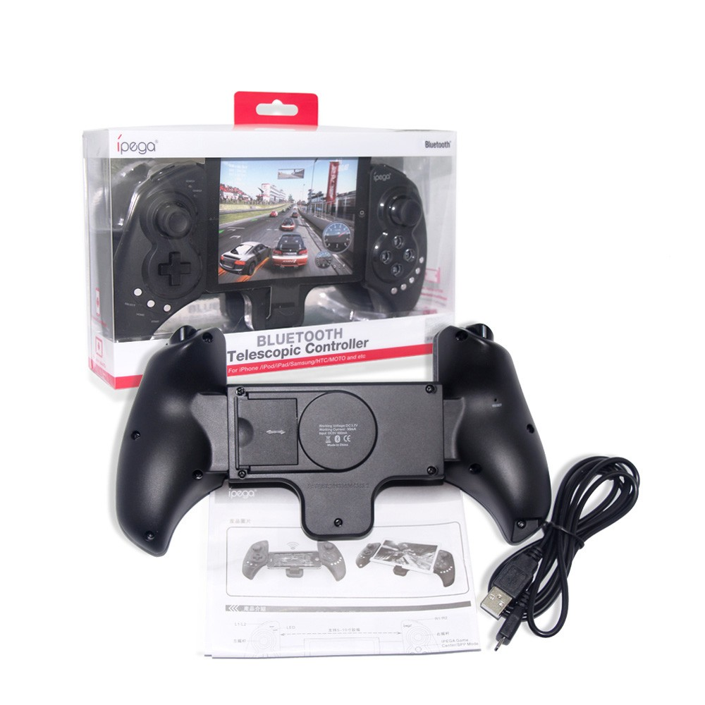 """iPega PG-9023 Portable Wireless BT 3.0 Game Controller Gamepad with Telescopic 5-10"""" for Android 3.2 IOS 4.3 BT 3.0 Above Smartphones Tablet PC Win7 Win8 ..."""