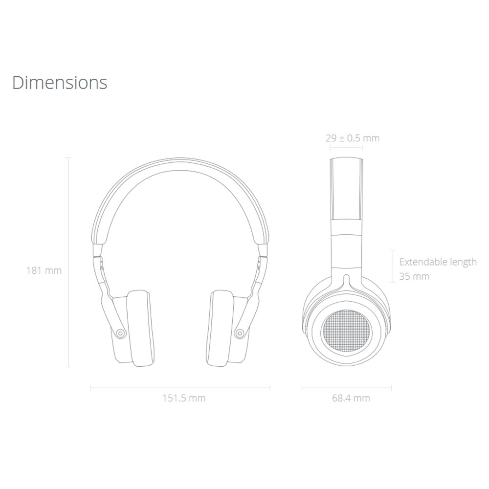 Xiaomi Mi Stereo Headphone Headset Earphone With 3 5mm
