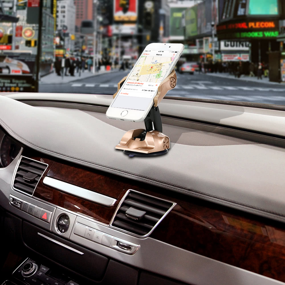 Cell Phone Holder Creative Car-shaped Bracket Mobile Holder