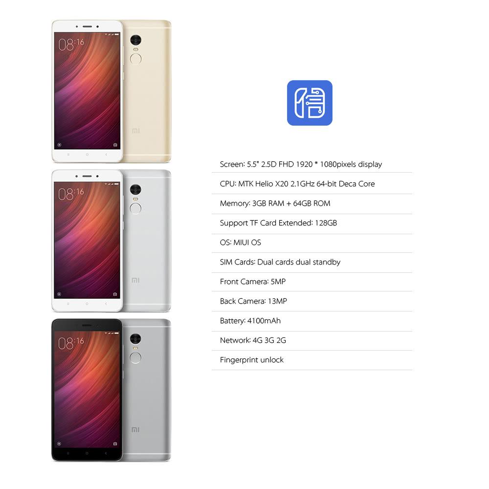 Best Xiaomi Redmi Note 4 Sale Online Shopping silver us plug | Cafago com