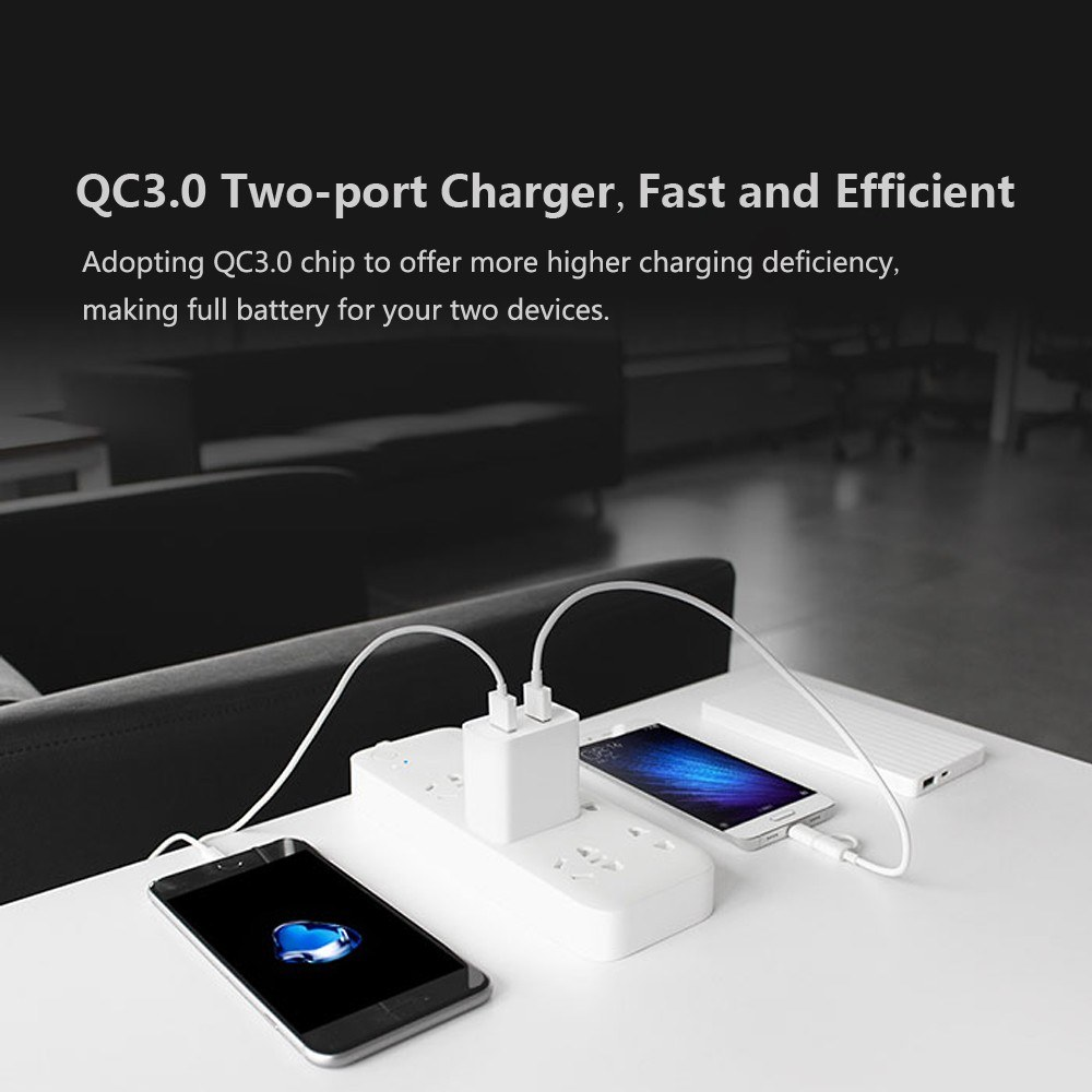 Harga Dan Spesifikasi Fast Charging Xiaomi Termurah 2018 Aukey 20000 Mah External Battery Charger Portable Power Bank 2 Port 24a With Aipower Original Best Usb Ports Qc30 Quick Charge Us Plug White