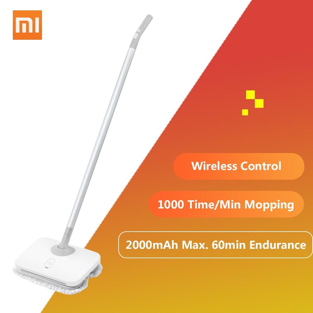 Best Xiaomi Mijia Wireless Handheld Floor Wiper Electric