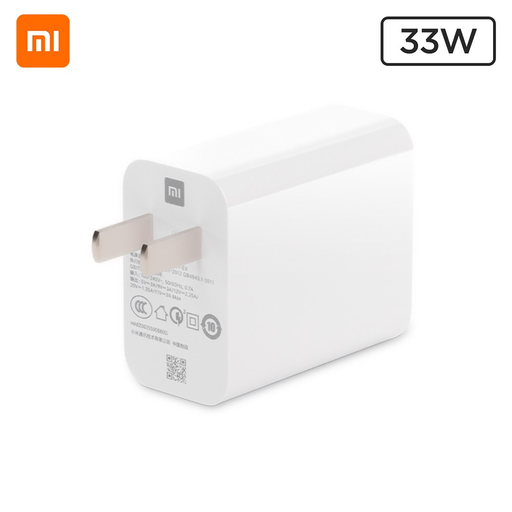 cafago.com - 54% OFF Xiaomi 33W Single USB Phone Charger Quick Charger MDY-11-EX,free shipping+$17.56