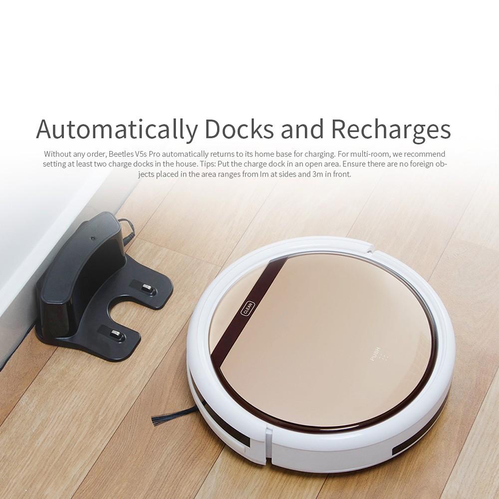ILIFE V5S Pro Intelligent Robotic Vacuum Cleaner Household ...