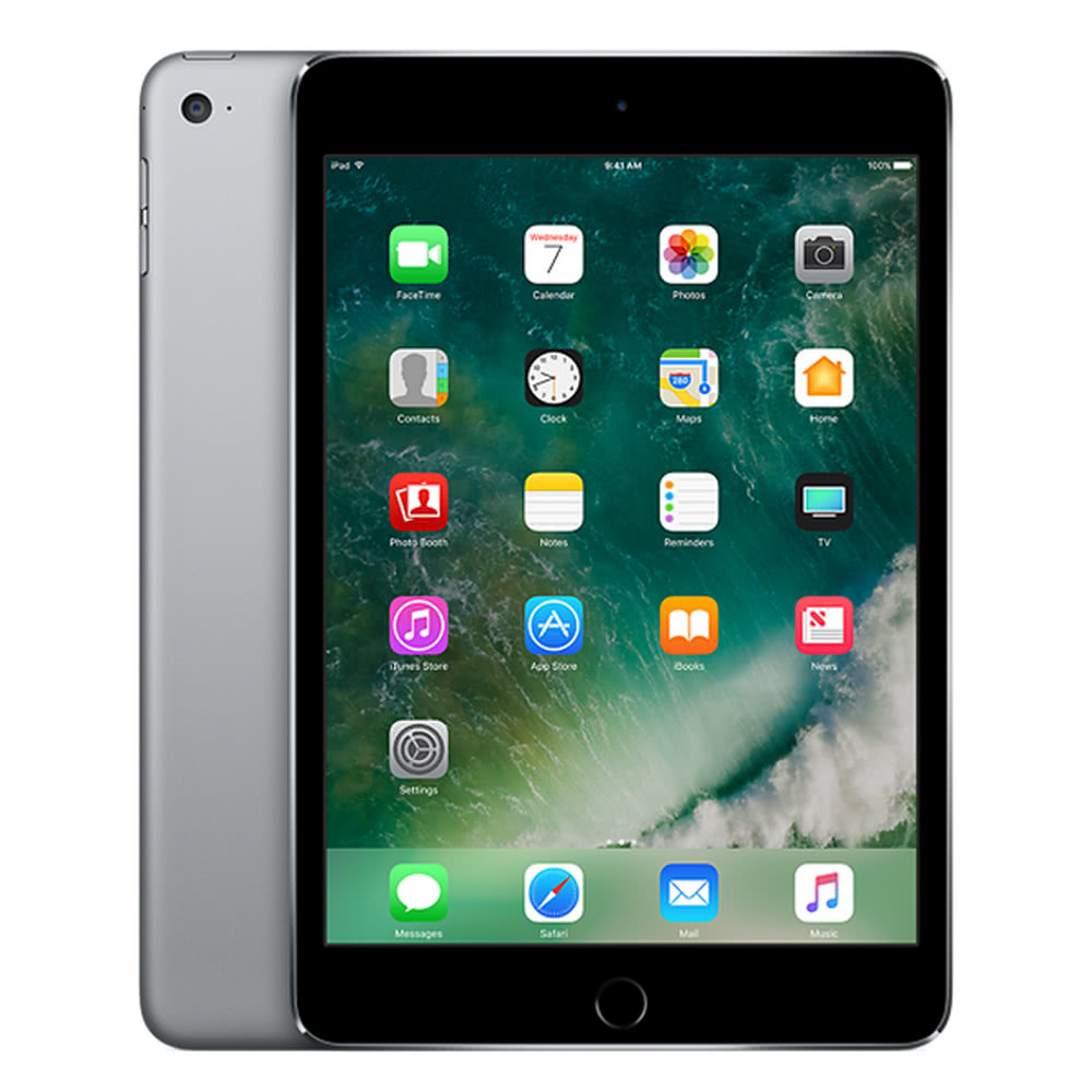 Apple iPad mini 4 Wi-Fi Only Tablet PC 7 9 inches 128GB China Version  (Refurbished) Sales Online gray us - Tomtop