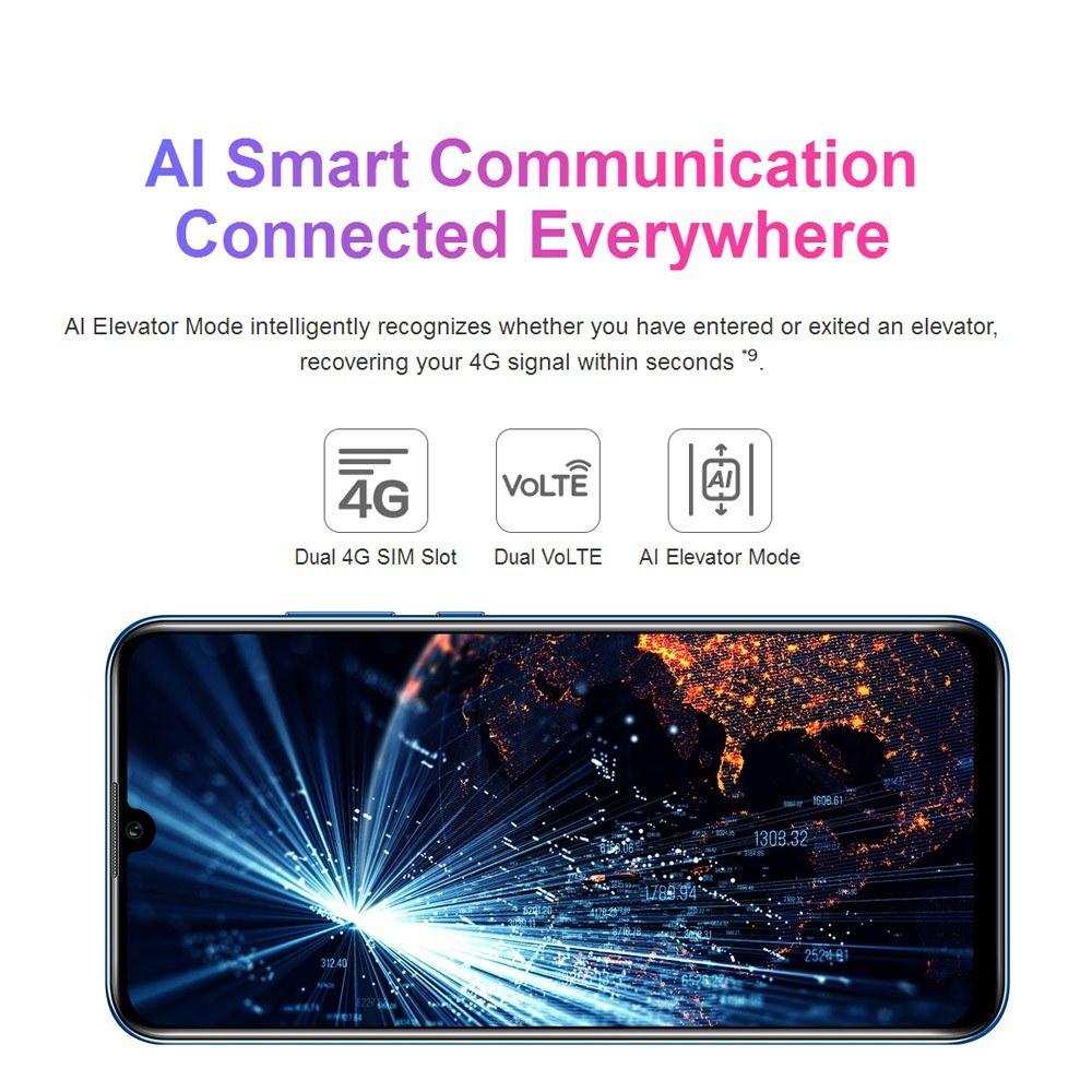 Global Version Huawei Honor 20 Lite Mobile Phone