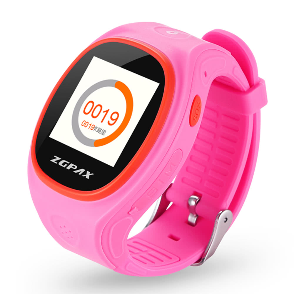 ZGPAX S866 Kids Tracking Watch Phone 2G Smart Watch MTK6260 1 2inch Screen  for Android 2 0 IOS 4 0 Above Smartphone Kids Pedometer Wifi Function