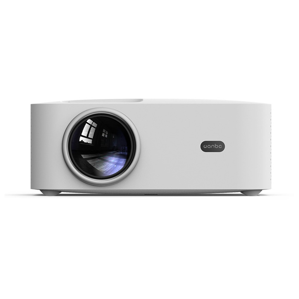 cafago.com - 58% OFF Global Version Wanbo X1 Projector Android Version 2.4G WIFI 1080P LCD Clear Projection,free shipping+$159.06